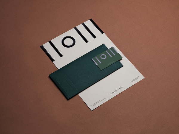 House of Wang brand identity