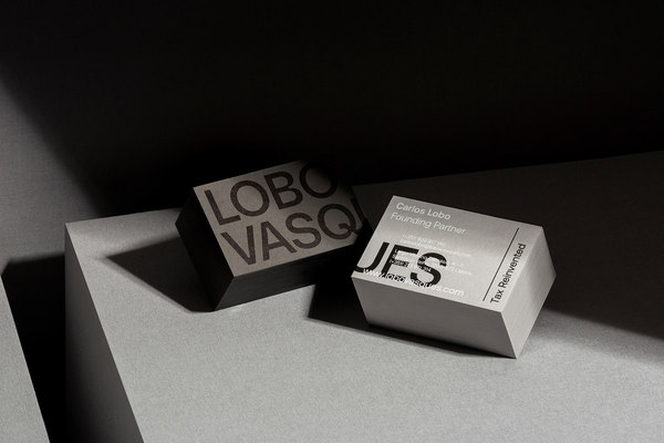 Lobo Vasques, branding for a boutique law firm.