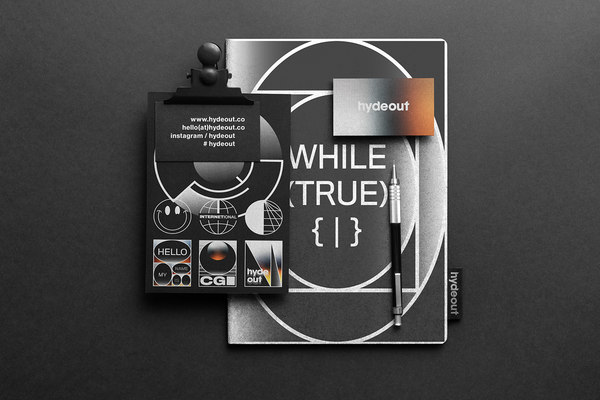 Hydeout Personal Identity Design Exploration