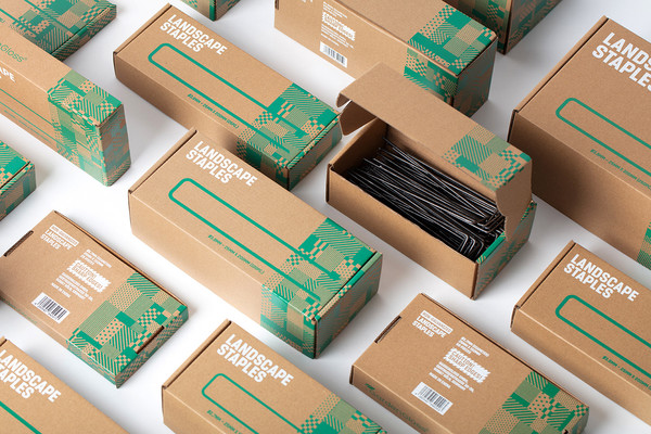 Landscape Staples packaging by Meng Zhang