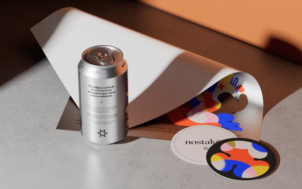 Nostalgia, a melancholic conceptual beer brand