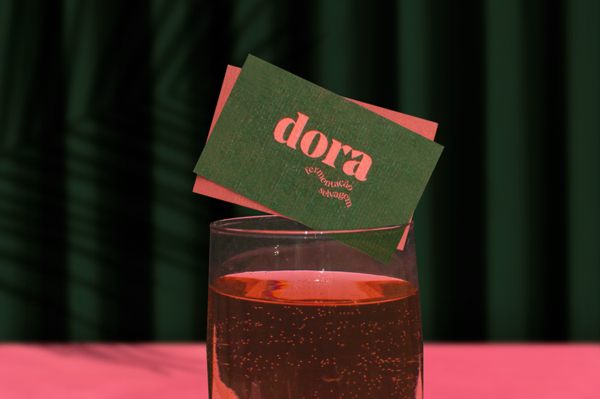 Dora, visual identity for a wild fermentation bakery